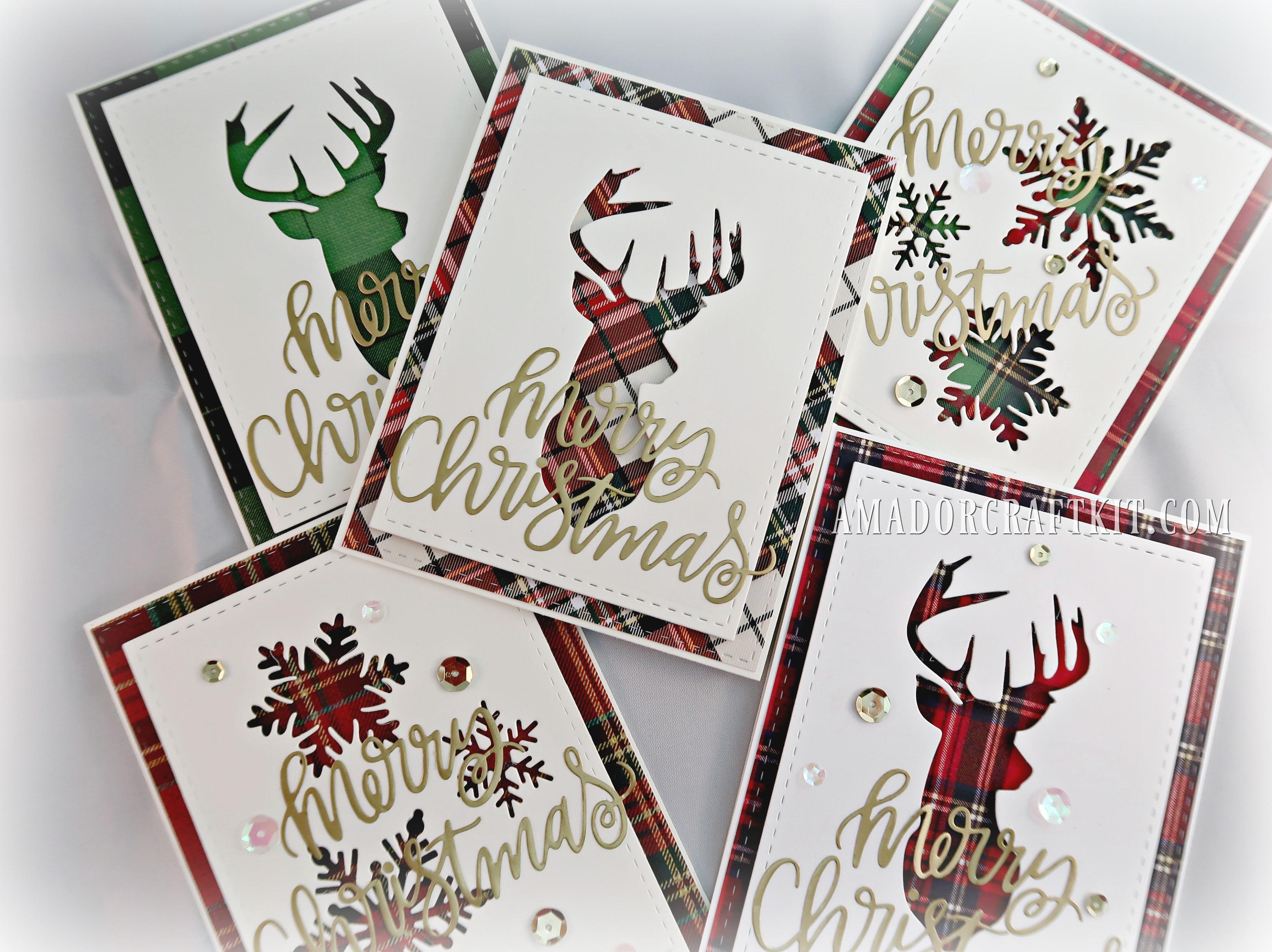 Easy DIY Christmas Cards Ideas